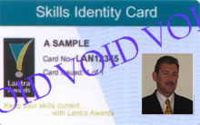 Lantra Awards Skills Card